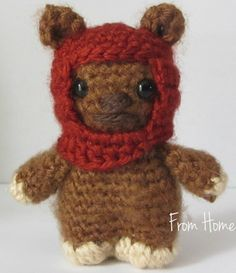 Ewok Amigurumi (Made to Order) Have one of these on order seriously can't wait to get him!!