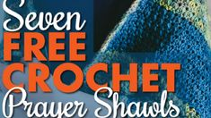 This free Seven Free Crochet Prayer Shawls eBook has designs inside the book that I think are doable for the average crocheter. Crochet Crowd, Crochet Stars, Crochet Baby, Free Crochet, Crotchet, Crochet Prayer Shawls, Crochet Shawls And Wraps, Crochet Stitches, Crochet Patterns