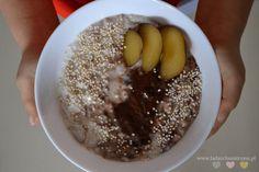 10 pomysłów na śniadanie dla dzieci - Lady Och Mistrzyni Acai Bowl, Oatmeal, Pudding, Breakfast, Desserts, Food, Acai Berry Bowl, The Oatmeal, Morning Coffee