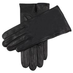 $64, Black Leather Gloves: Dents Skyfall Leather Gloves Black. Sold by KJ Beckett. Click for more info: https://lookastic.com/men/shop_items/135297/redirect