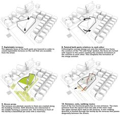 Architecture Concept Diagram, Library Architecture, Education Architecture, Architecture Diagrams, Islamic Architecture, School Architecture, Architecture Design, Ying Yang Sign, Parti Diagram