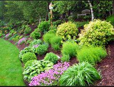 landscape idea - Landscaping Design Ideas For Backyard