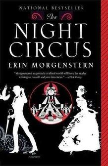 """""""The Night Circus"""" by Erin Morgenstern (a favorite novel)"""