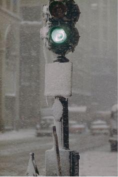 Photo: Saul Leiter in New York, 1955.