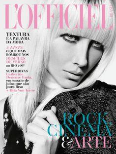 L'Officiel #21 Maio, 2014 Capa 01 - Ana Claudia Michels veste Vitorino Campos
