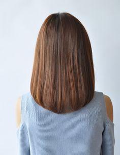 Lob Haircut Straight, Short Straight Hair, Straight Hairstyles, Cool Hairstyles, Medium Hair Cuts, Long Hair Cuts, Medium Hair Styles, Short Hair Styles, Long Hair Video