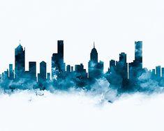 Melbourne   #melbourne #australia #city #skyline #cityscape #landscape #art #photographic #prints #gift #ideas #shopping