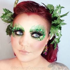 #Halloween #SephoraSelfie look: Poison Ivy by brittanycouturexo. Tag your pics with #SephoraSelfie for a chance to be featured!