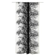 Bring nature into your home with the Saarni curtain by Vallila Interior. The curtain was designed by Tanja Orsjoki and depicts a large-scale tree pattern. The curtain is available in several colors and works well both in a bedroom, living room or kitchen.