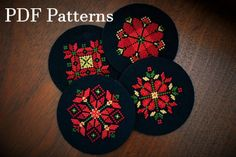 Palestinian Embroidery PDF Patterns, Set of Tatreez by HunzyBunzy on Etsy Embroidery Designs, Embroidery Thread, Embroidery Dress, Cross Stitch Designs, Cross Stitch Patterns, Elephant Keychain, Unique Housewarming Gifts, Palestinian Embroidery, How To Make Clay