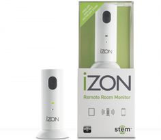 The iZON ($130) Remote Room Monitor enables you to view and listen to activity in your home or office from anywhere in the world on your iPod touch, iPhone or iPad.