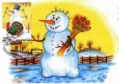34 Best Russian New Year Cards Images