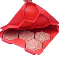 FREE SHIPPING IN USA when you order 2 or more Designed to make your homemade burgers easier than ever, the Burger Master goes beyond the single burger press by instantly shaping and storing eight burg