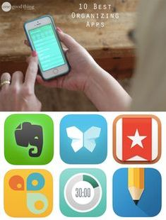 Apps for organization can save time, money and headaches. Plus, most of them are FREE! Here are some of our favorites!