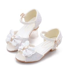 Girls Bling Bowknot Decor Frozenly Elsa Princess Peep Toe Dancing Shoes is cheap, come to NewChic and buy the best kids shoes now! Shoes Sandals, Dress Shoes, Dance Shoes, Flats, Little Girl Shoes, Girls Shoes, Big Kids, Cool Kids, Baby Girl Toys
