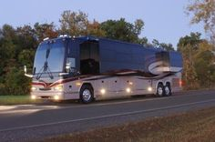 Prevost Motorcoach - for traveling across the country...- follow us on #Professionalimage