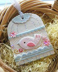 Swirly Bird ornament - I got this one last year! So cute!