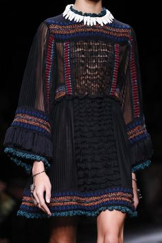 Valentino Fashion Show Ready to Wear Collection Spring Summer 2016 in Paris