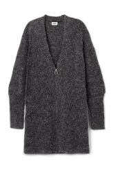 <p>The Mood Cardigan has an oversized fit, a deep V-neck, high…