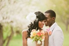 Styled wedding shoot (courtesy of photographer David Newkirk) #wedding #photography #realweddings
