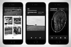 Black | It's true: every photo app on your phone can handle black and white conversions, but none of those tackle B&W quite like Black. Built from the ground up to emulate black & white film, it uses carefully analyzed and reproduced films to recreate the effects of those classic rolls on your own photos. In addition, it offers built-in vignette, fade, and curve controls, ensuring that your monochrome masterpieces look just right without the need to fire up a second app.