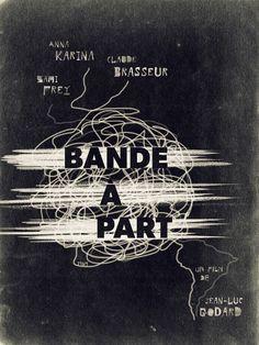 Godard Film Poster Series by Juan Villanueva