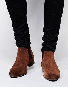 Enlarge ASOS Chelsea Boots in Suede