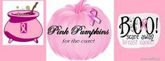 pink pumpkin, breast cancer