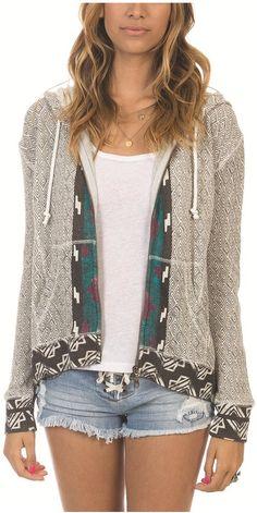 Billabong US Womens : CLOTHING - Breakdown Hd Zip