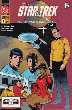 Star Trek Original Series The Modala Imperative #1 1991 DC Comics