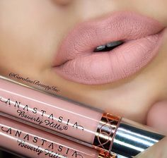 Love this lip combo, in Pure Hollywood & Milkshake by Anastasia Beverly Hills! Love this lip combo, in Pure Hollywood & Milkshake by Anastasia Beverly Hills! Anastasia Beverly Hills Lipstick, Anastasia Liquid Lipstick, Nude Lipstick, Makeup Lipstick, Lipsticks, Matte Lips, Makeup Goals, Makeup Inspo, Makeup Inspiration