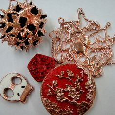 Electroforming -- $45.00 ($55.00 with safety class) (Kits available)