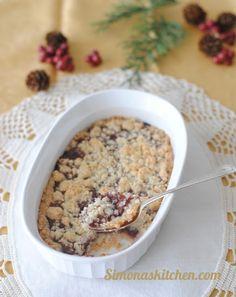 Simona'sKitchen: Crumble al Cocco e Marmellata di Lamponi - Coconut Cramble & Raspberries Jam