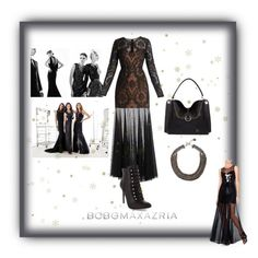 """""""Holiday Obsessions with BCBGMAXAZRIA"""" by xdarkgothamx ❤ liked on Polyvore featuring BCBGMAXAZRIA"""