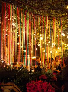 Colorful Evening Rehearsal Dinner In Mexico