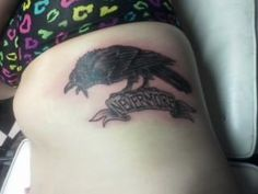 my new tattoo for mr. poe