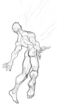 "when going from ""hawk flight"" straight down to ground level, directly into an enemy's chest. Anatomy Sketches, Anatomy Art, Anatomy Drawing, Drawing Sketches, Art Drawings, Figure Sketching, Figure Drawing Reference, Art Reference Poses, Sketch Poses"
