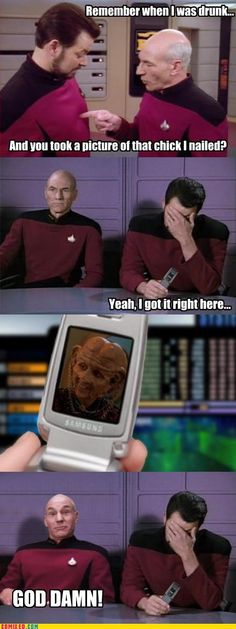 Jean-Luc Picard = Master of Faces
