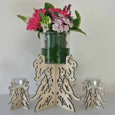 Sunbird Parade candle Holders