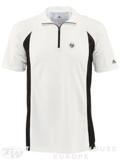 adidas Men s Roland Garros Y-3 On Court 1 2 Zip Crew Remeras Adidas 70202e02dc721