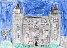 Ben Rowlatt McCormick, aged 11, was Commended for his drawing of Killyleagh Castle