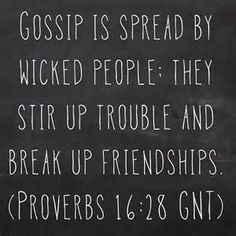 Bible Quotes About Gossip - Bing Images
