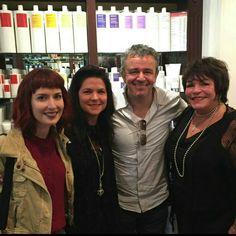The Salon Di Panache staff had a great visit with Nick Arrojo , to educate and inspire our team. #beautiful #style #arrojo #arrojonyc #arrojostudio #corrindoeshair #happyclient #newtonnj @salondipanache