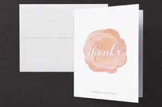 Modern Bloom Thank You Cards