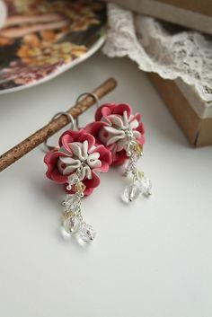 Lotus earrings | Flickr - Photo Sharing!