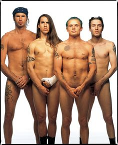 Red Hot Chili Peppers, Los Angeles, 1992.