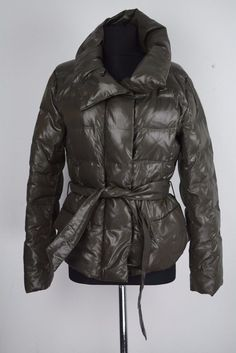 WEEKEND By MAX MARA Womens Green Goose Down Jacket Coat Size EU 40 US 10 UK  12 c978270f42a