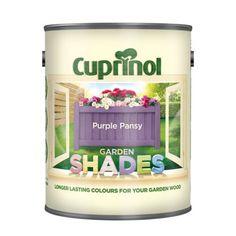 Cuprinol Garden Shades Purple Pansy - 1L