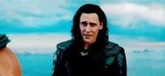 Loki is so beautiful, and his smile here is just.... ~_~