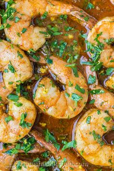 Baked Honey Cajun Shrimp. Easy & SO addictive! Great over potatoes, rice or pasta. @natashaskitchen